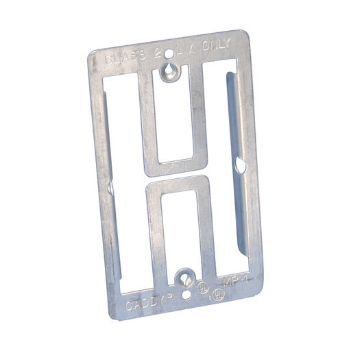 Mayer-Low Voltage Mounting Plate, 1 Gang-1
