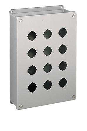 Mayer-Pushbutton Screw Cover, 4X, 1PB x 22.5mm, SS 304-1