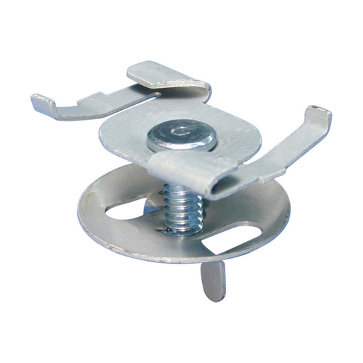 "4G16 Twist Clip with Wing Nut, Spring Steel, nVent CADDY Armour, 1.5"" Screw"