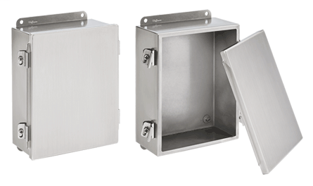 Mayer-Clamp Cover Junction Box, 4X, 10x8x4, SS 304-1