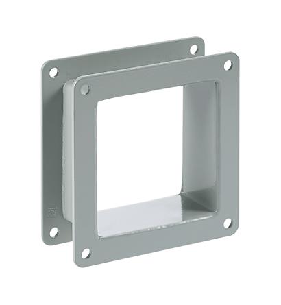 Nipple, 2.50x2.50x2.00, Gray, Steel