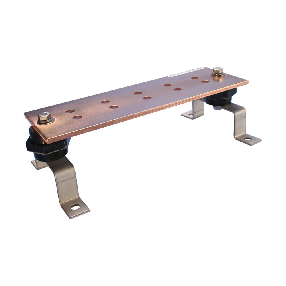 Mayer-Grounding Busbar, 1/4X4X24, CC PATTERN-1