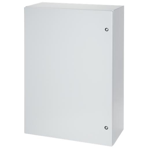 Concept Single-Door Enclosures, 20.00x20.00x8.00, Lt Gray, Steel