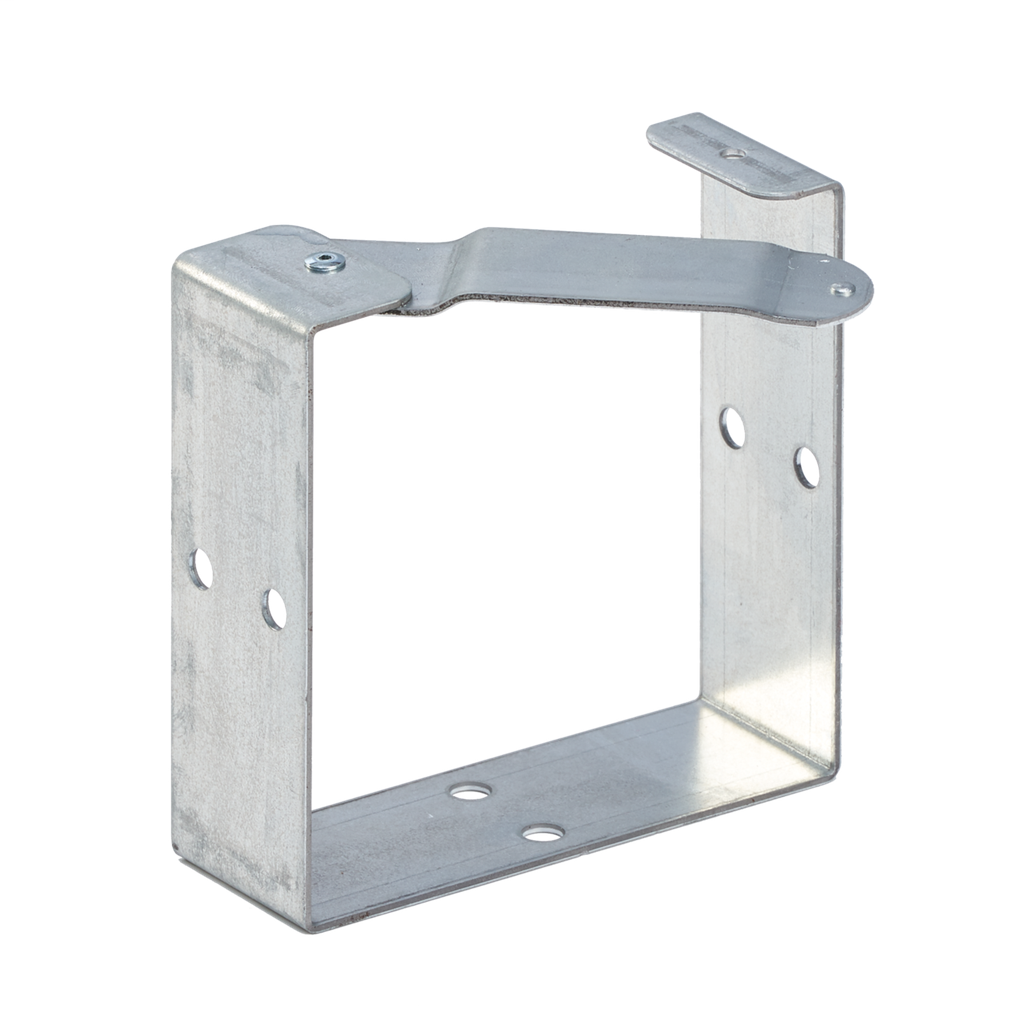 Mayer-Galvanized Universal U-Connector, fits 12.00x12.00, Steel-1