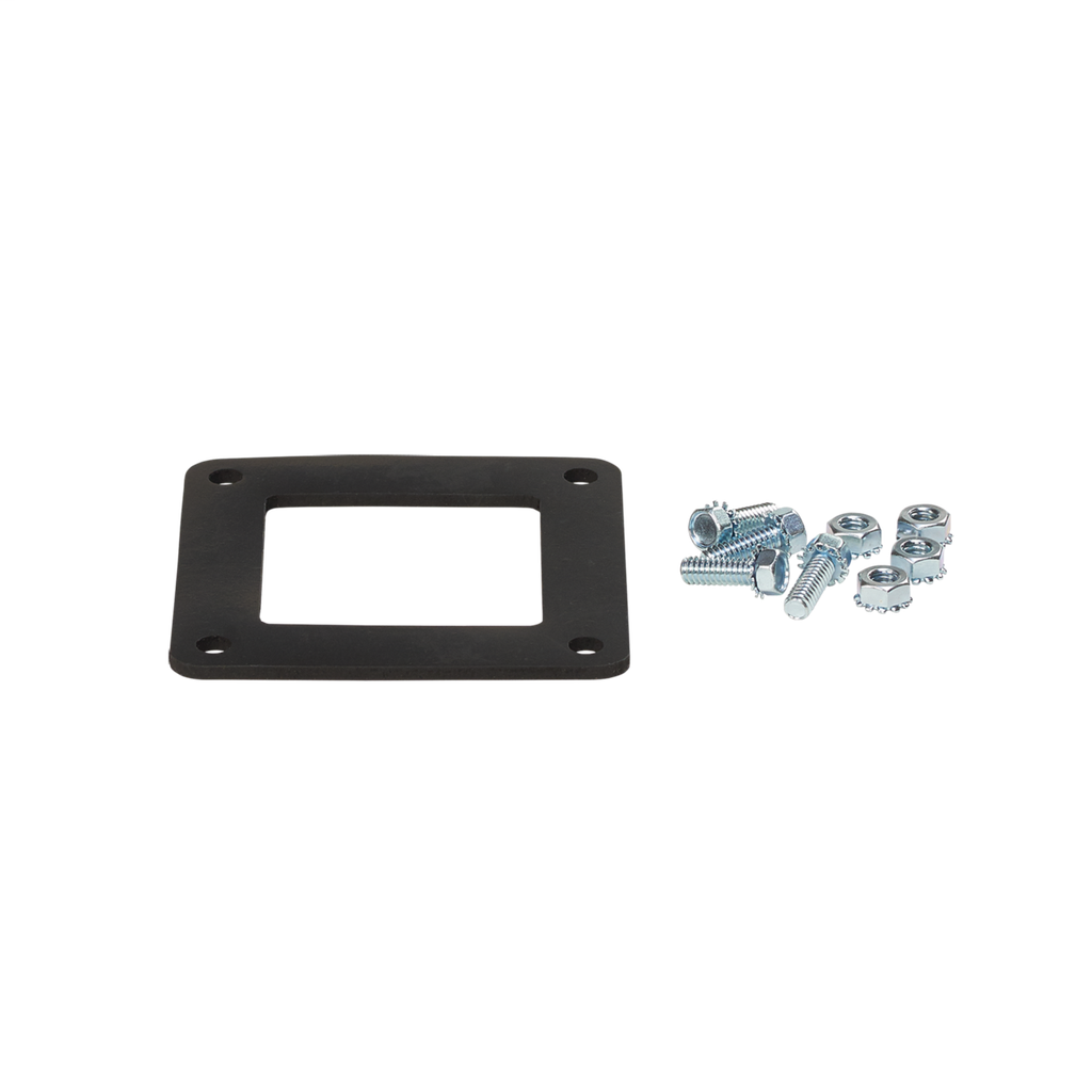 Mayer-Gasket and Screws, fits 6.00x6.00, Rubber-1