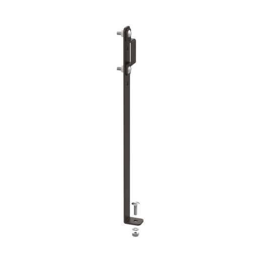 Mayer-Runway Elevation Kit, 6.00, Black, Steel-1