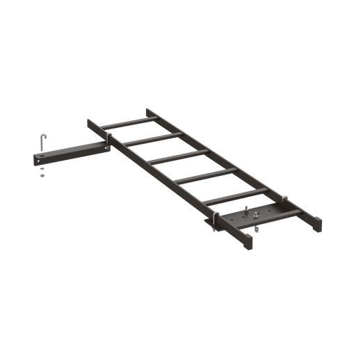 Rack-to-Wall Kit, Black, Steel