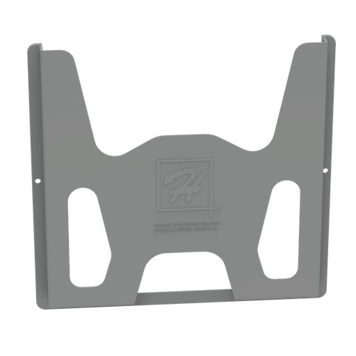 Data Pocket, Thermoplastic, 12x12 inch, Black, Plastic