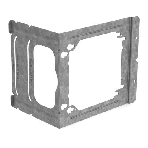 "Mayer-Electrical box bracket to stud, 2 1/2"", 3 5/8"", 4"" wall depth, 3.89""-1"