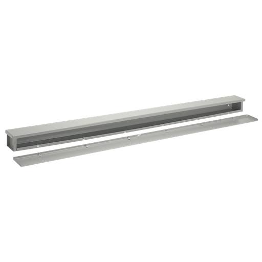 Wiring Trough, NEMA Type 3R, 8.00x8.00x24.00, Steel