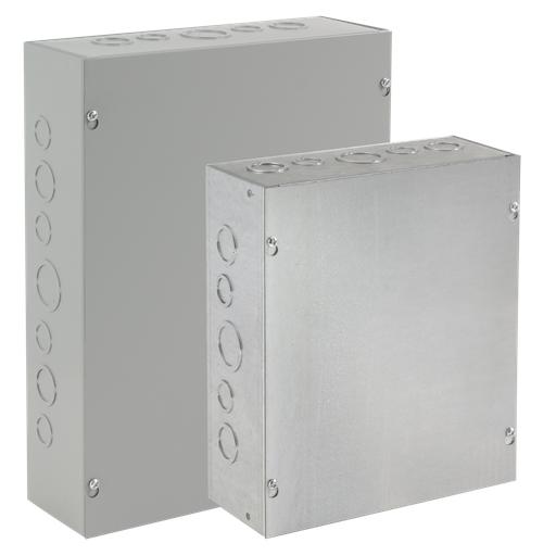 Mayer-Screw-Cover, Type 1, 8.00x8.00x4.00, Galvanized-1