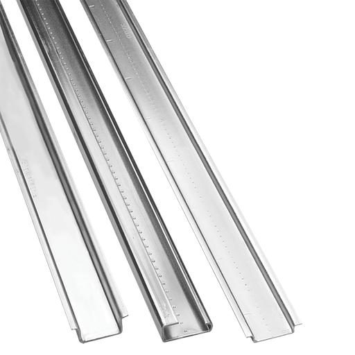 DIN Rail, Symmetrical TS35x7.5, 2000mm, Steel