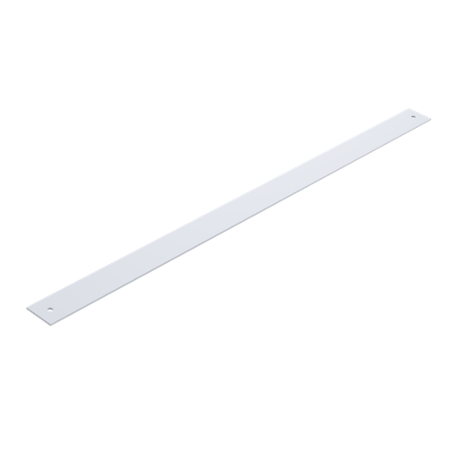 Terminal Strap for Type 4, 12 and 13 Enclosures, fits 48.00, White, Steel