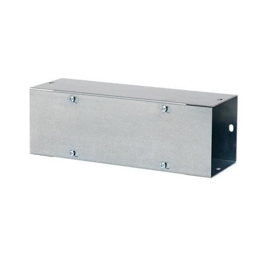 Mayer-Lay-In Type 1 Galvanized Wireway Straight Section, 4.00x4.00x120.00, Steel-1