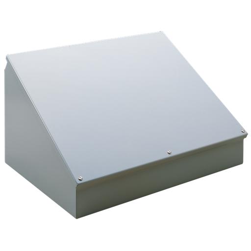 Mild Steel Consolet, Type 12, 20.00x24.00x13.09, Gray, Steel