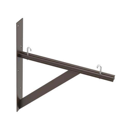 Mayer-Triangle Support Bracket Kit, fits 12.00, 18.00, Black, Steel-1