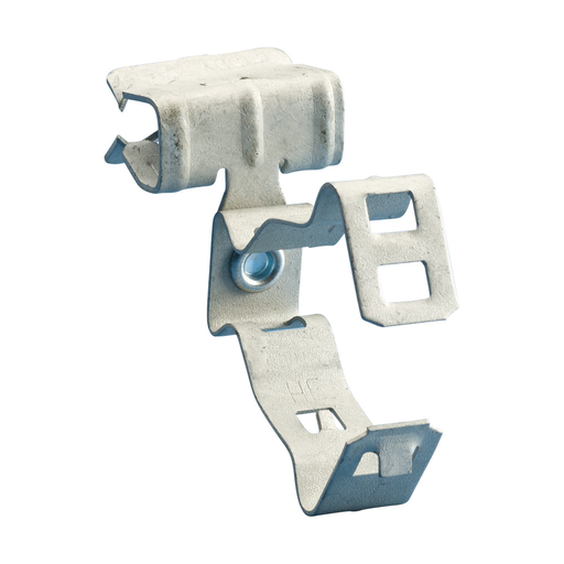 """Mayer-Conduit/Pipe to Flange Clip Side Mount 14-2 to12-3 MC/AC, 1/8–1/4"""" Flange-1"""