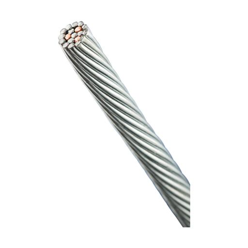 nVent ERICO Cu-Bond Composite Cable, 0.374 Ω/1000' Resistance, 250' Cable