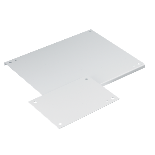 Panel for Type 3R, 4, 4X, 12 and 13 Enclosure, fits 16x12, White, Steel
