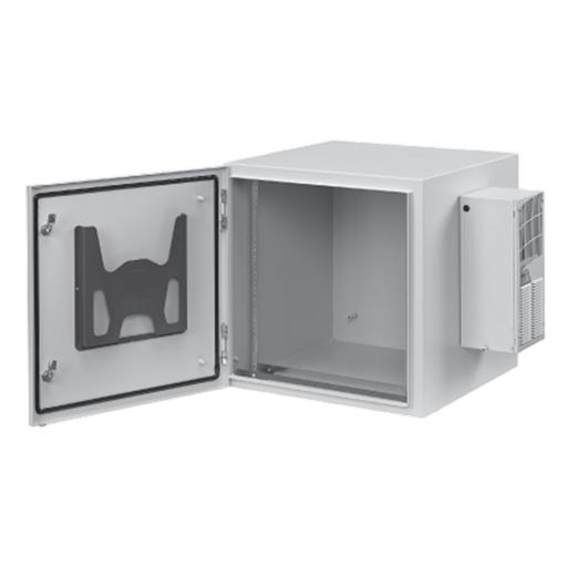 ProTek Single-Door, Type 4, 12, 48.62x23.62x24.02, Lt Gray, Steel, Solid, AC