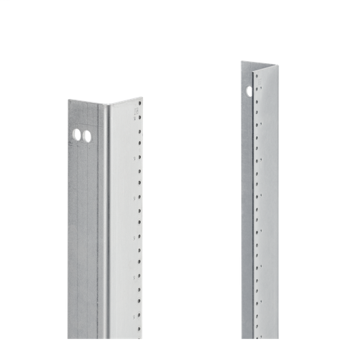 Rack Mounting Angle L Style Type RP, Full Length, fits 72x24, Steel