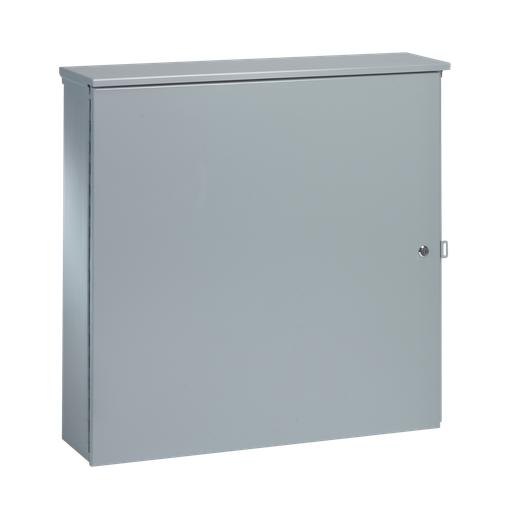 Mayer-T3-Box Telephone Cabinet Type 3R, 36.00x36.00x12.00, Gray, Steel-1