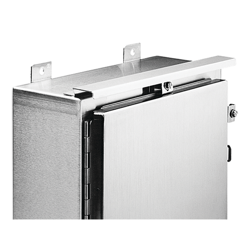 Stainless Steel Drip Shield Kit for Type 4 and 4X Wall-Mount, fits B=12.00