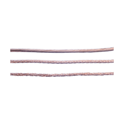 Mayer-Non-Insulated Stranded Conductor for Lightning Protection, Copper, Smooth Weave, 59.45 kcmil-1