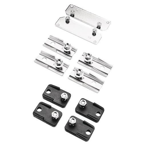 Mayer-Mounting Bracket Kit, 3.06x1.34x.60, Black, Plastic-1