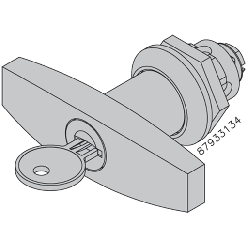 Mayer-Locking T Handle, Steel-1
