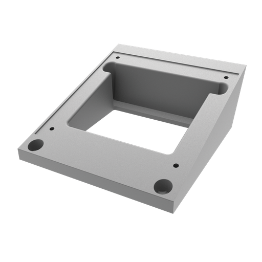 Angle Adapter for HMI Pedestal, fits 8x8 Pedestal, Aluminum