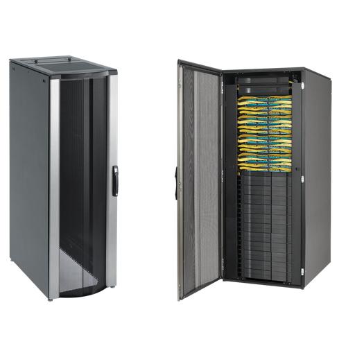 ProLine ConnecTek Patch Cabinet, 2000x800x1000mm, Black, Steel, No Sides