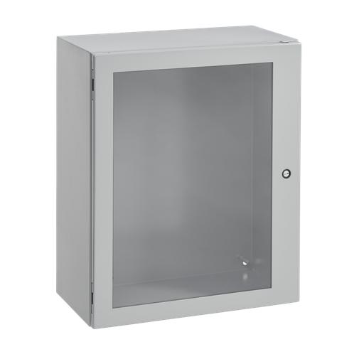 Concept Window-Door Enclosures, 16.00x12.00x6.00, Gray, Steel