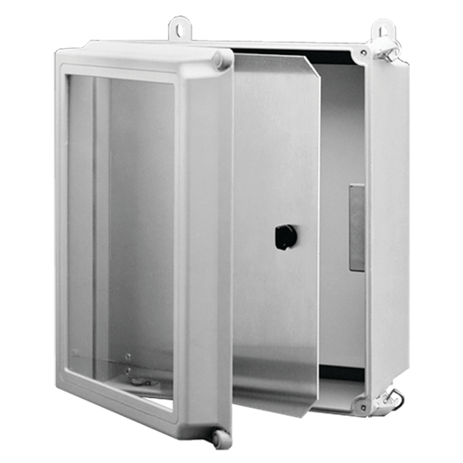 A48 Series Swing-Out Panel Kit, fits 10x8, Aluminum