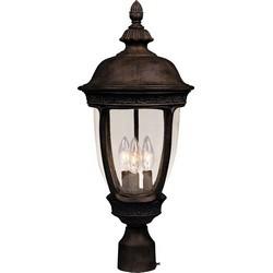 MAXIM 3460CDSE Knob Hill Cast 3-Light Outdoor Pole/Post Lantern Pole/Post Lantern Pole/Post Lantern