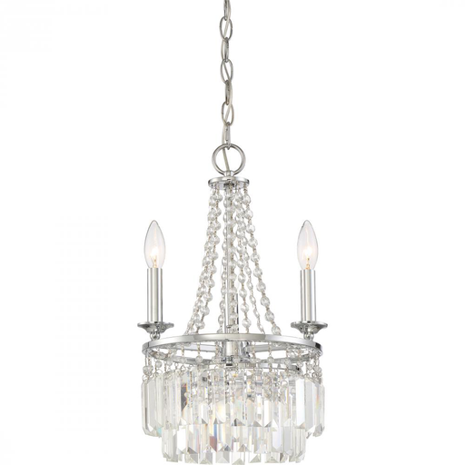QUO MMR5303C MINI CHANDELIER W/3 LIGHTS
