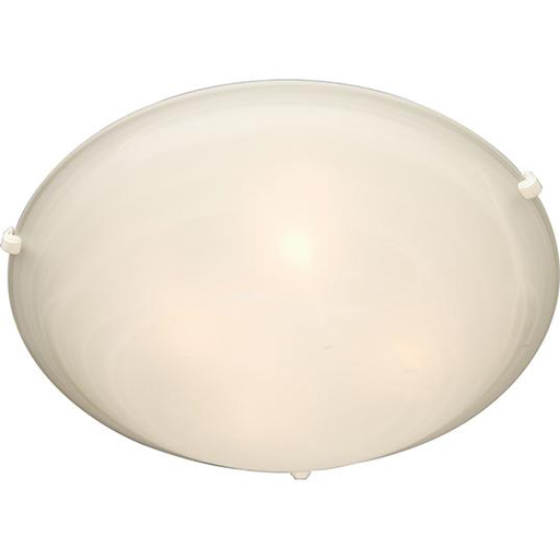 MAXIM 2681MRWT Malaga 3-Light Flush Mount