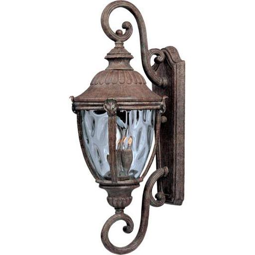 MAXIM 40289WGET Morrow Bay VX 3-Light Outdoor Wall Lantern Lantern