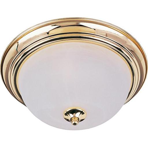MAXIM 5840MRPB Essentials 1-Light Flush Mount