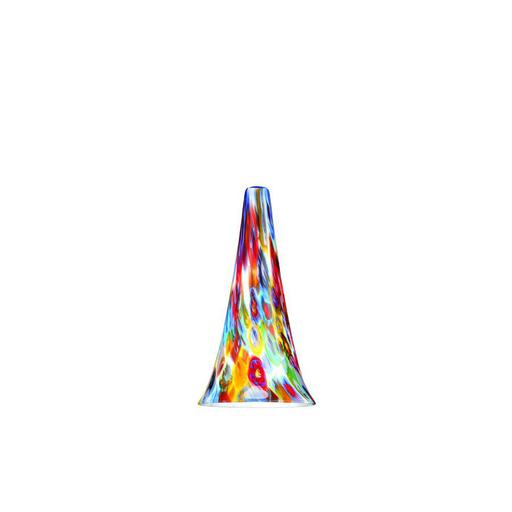 WAC G614-MF MILLIFIORE FLUTE ART GLASS SHADE