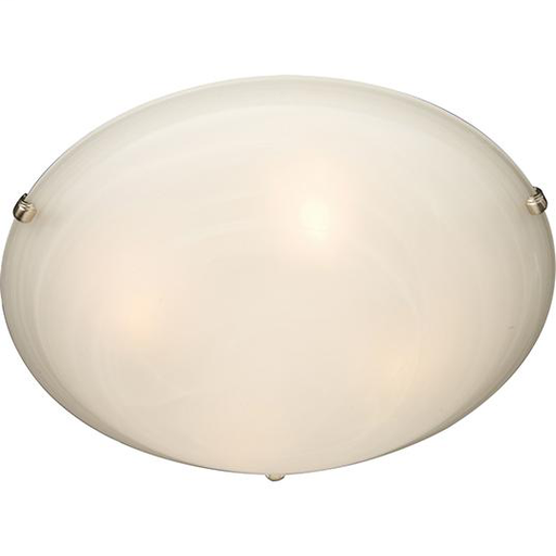 MAXIM 2681MRSN MALAGA 3-LIGHT FLUSH MOUNT