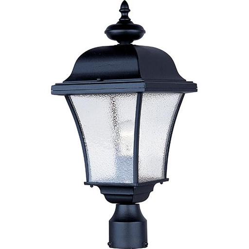 MAXIM 1065BK Senator 1-Light Outdoor Pole/Post Lantern Lantern Lantern