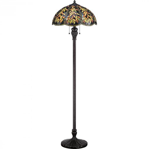 QUO TFBL9360IB 100W INC FLOOR LAMP
