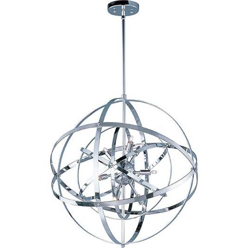MAXIM 25133PC Sputnik 9-Light Pendant