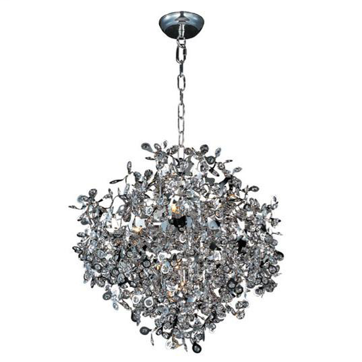 MAXIM 24205BCPC Comet 10-Light Pendant WITH 10-40W G9 XENON
