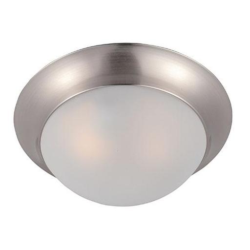 MAXIM 5850FTSN Essentials 1-Light Flush Mount