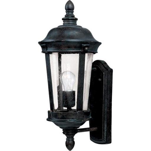 MAXIM 3020CDBZ Dover Cast 1-Light Outdoor Wall Lantern Lantern