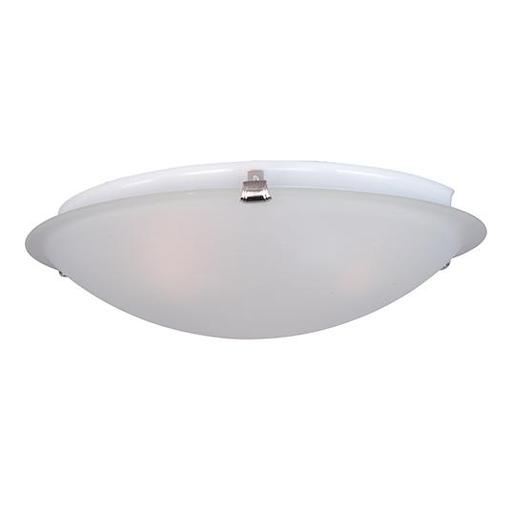 MAXIM 2680FTSN Malaga 2-Light Flush Mount