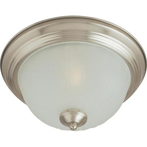 MAXIM 5830FTSN Essentials 1-Light Flush Mount