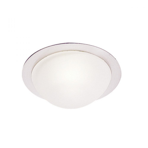 WAC HR-1138-BN BRUSHED NICKEL FROSTED DOME CABINET RECESSED WITH 20W 12V HAL BIPIN AND HOUSING REQUIRES REMOTE TRANSFORMER